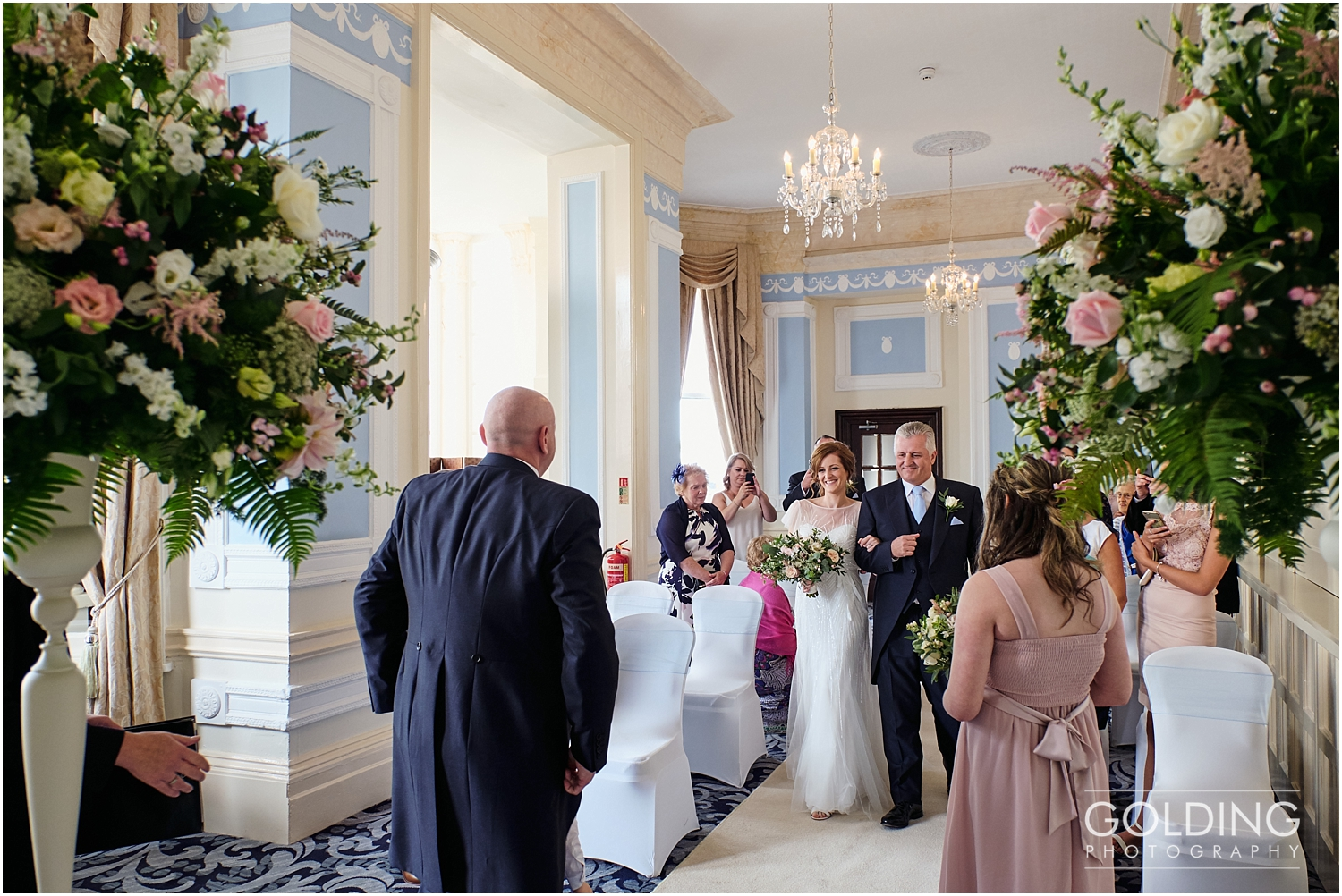 St Georges Hotel LLandudno wedding photography